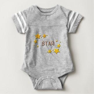 Body Para Bebê estrelas