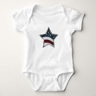Body Para Bebê Estrelas e bares do Bodysuit