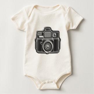Body Para Bebê Eu ainda disparo no preto do logotipo do filme