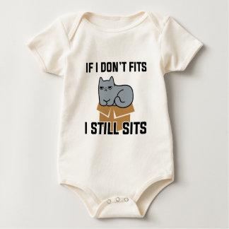Body Para Bebê Eu ainda sento-me