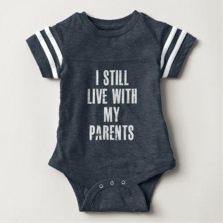 Body Para Bebê Eu ainda vivo com meu terno desportivo do corpo