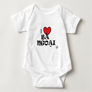 Body Para Bebê Eu amo a avó (no vietnamita)