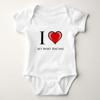 Body Para Bebê Eu amo a competência de barco do jato