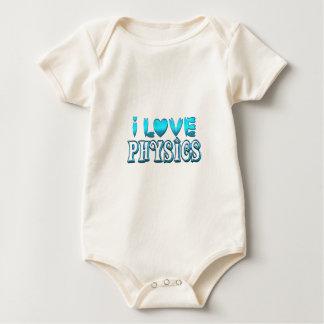 Body Para Bebê Eu amo a física