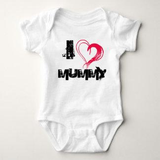 Body Para Bebê Eu amo a mamã