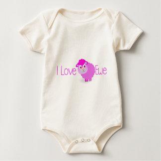 Body Para Bebê Eu amo a OVELHA