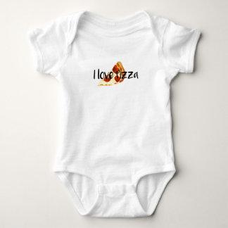 Body Para Bebê Eu amo a pizza