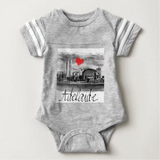 Body Para Bebê Eu amo Adelaide