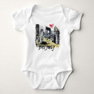 Body Para Bebê Eu amo Beijing