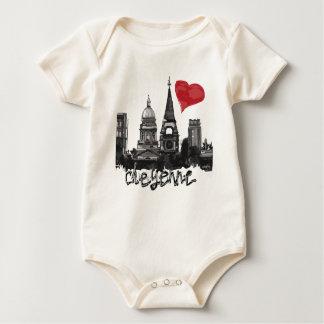 Body Para Bebê Eu amo Cheyenne