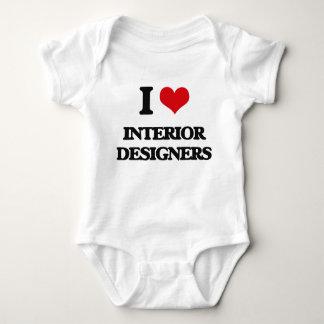 Body Para Bebê Eu amo designer de interiores