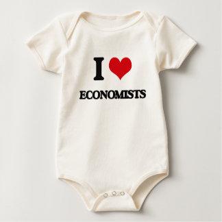 Body Para Bebê Eu amo ECONOMISTAS