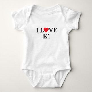 Body Para Bebê Eu amo K1