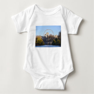 Body Para Bebê Eu amo Londres!