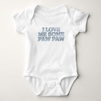 Body Para Bebê Eu amo-me algum Creeper da criança da pata da pata