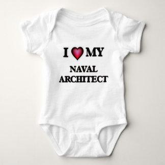 Body Para Bebê Eu amo meu arquiteto naval