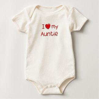Body Para Bebê Eu amo meu Auntie