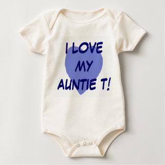 Body Para Bebê EU AMO MEU Auntie T.B