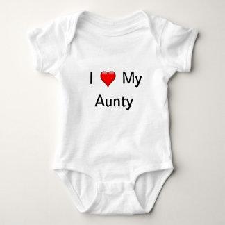 Body Para Bebê Eu amo meu Aunty