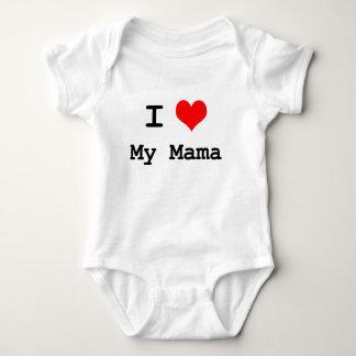 Body Para Bebê Eu amo meu Mama