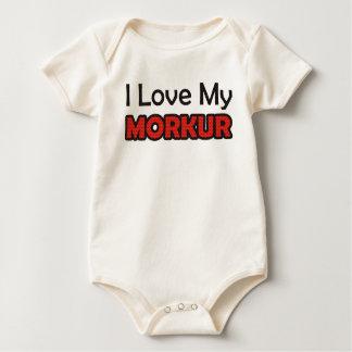 Body Para Bebê Eu amo meu Morkur