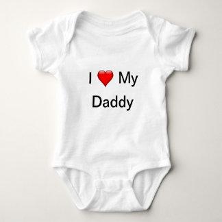 Body Para Bebê Eu amo meu pai