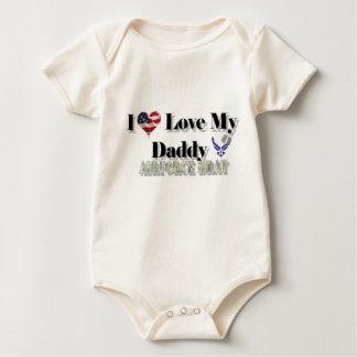 Body Para Bebê Eu amo meu pai (o pirralho da força aérea)