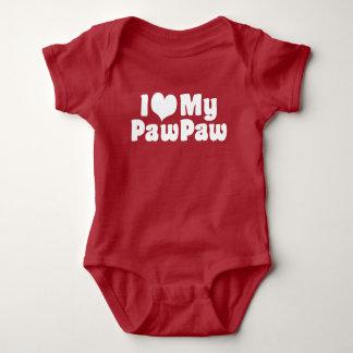 Body Para Bebê Eu amo meu PawPaw