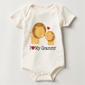 Body Para Bebê Eu amo meu presente de Grammy