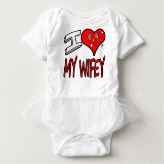 Body Para Bebê Eu amo meu Wifey