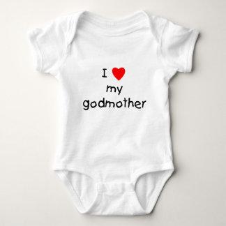 Body Para Bebê Eu amo minha madrinha