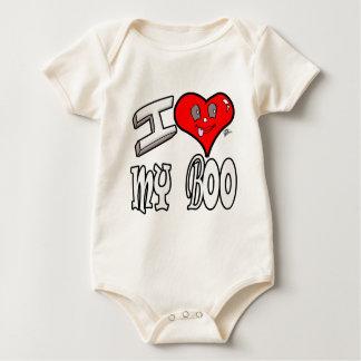 Body Para Bebê Eu amo minha vaia