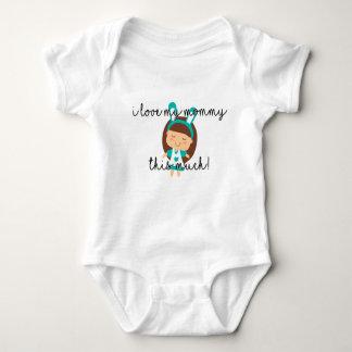 Body Para Bebê Eu amo minhas mamães este muito - Bodysuit do bebê