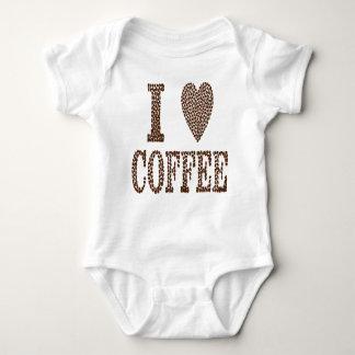 Body Para Bebê Eu amo o café