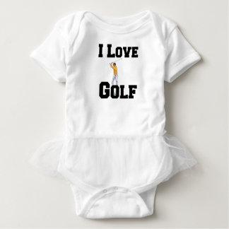 Body Para Bebê Eu amo o golfe 01