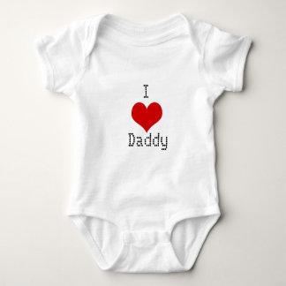 Body Para Bebê Eu amo o pai Onsie
