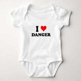 Body Para Bebê Eu amo o perigo