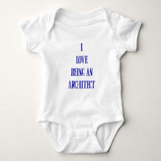 Body Para Bebê Eu amo ser um arquiteto