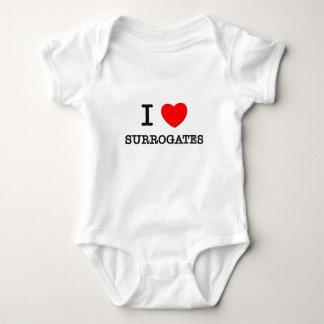 Body Para Bebê Eu amo substitutos