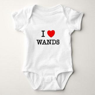 Body Para Bebê Eu amo varinhas