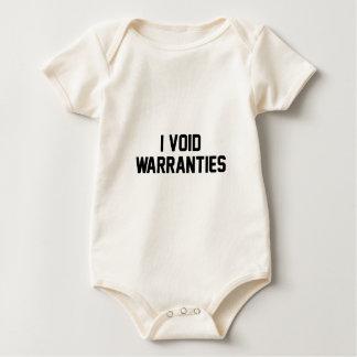 Body Para Bebê Eu anulo garantias