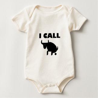 Body Para Bebê eu chamo-o força do touro