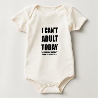Body Para Bebê Eu chanfro o adulto hoje amanhã não olho bom