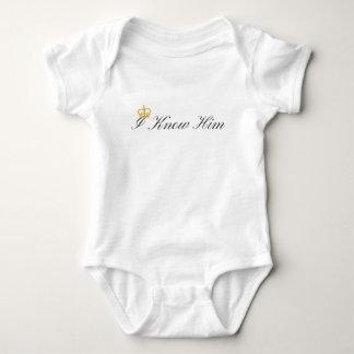 Body Para Bebê Eu conheço-o Bodysuit do bebê