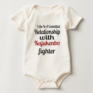 Body Para Bebê Eu estou em uma relação cometida com Kajukenbo Fi