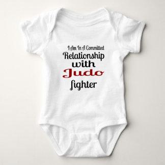 Body Para Bebê Eu estou em uma relação cometida com lutador do