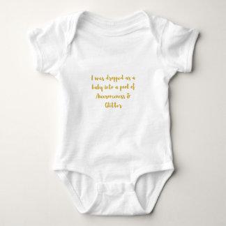 Body Para Bebê Eu fui deixado cair como um bebê em uma piscina de