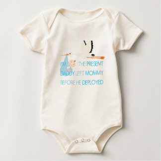 Body Para Bebê Eu fui o pai atual deixado antes que distribuiu