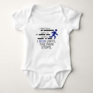 Body Para Bebê Eu funciono até que a dor pare