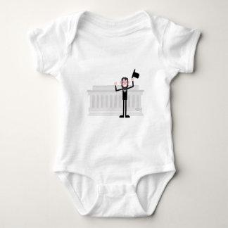 Body Para Bebê Eu gosto de lincoln